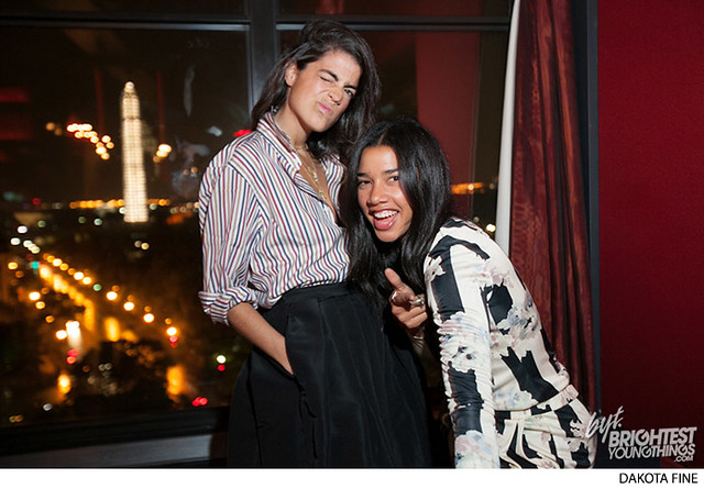 Man Repeller Leandra Medine visits the W Hotel in Washington, D.C. for a book signing on October 9, 2013.