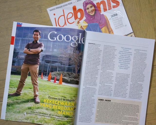tyoavn on ide bisnis magazine