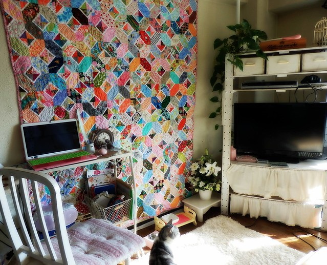 The Hugs and Kisses Quilt at Kaori's House