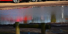 20140202_01_Coombe Country Park - Car Park Reflections