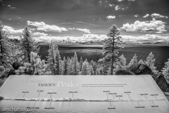 Lake Tahoe Vista Point #2 - Nikon 1 V1 - IR700nm - 6,7-13mm