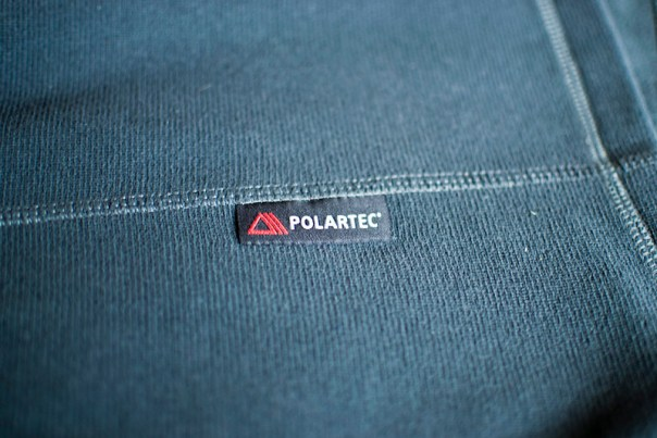 Rab Orbit Pull-on Fleece Polartec label