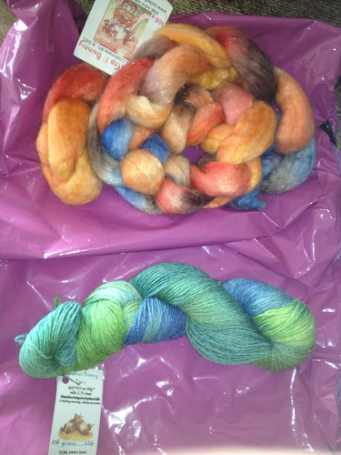 IxChel Bunny Fibre & Sock Club July 2013