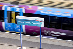 Heathrow Express at Paddington Station