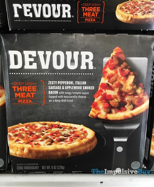 Devour Deep Dish Three Meat Pizza