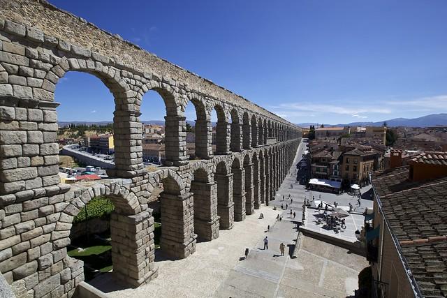 Aqueduto de Segóvia - Espanha