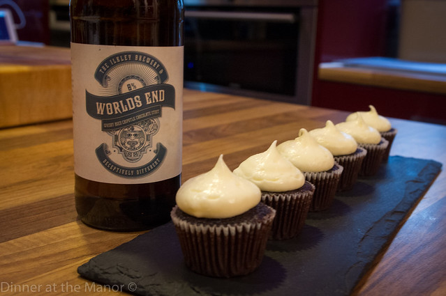 Stout and chocolate cupcakes