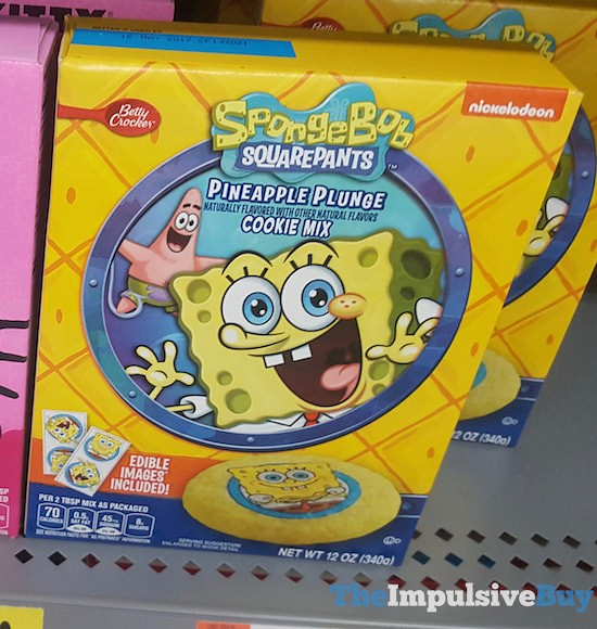 Betty Crocker Spongebob Squarepants Pineapple Plunge Cookie Mix