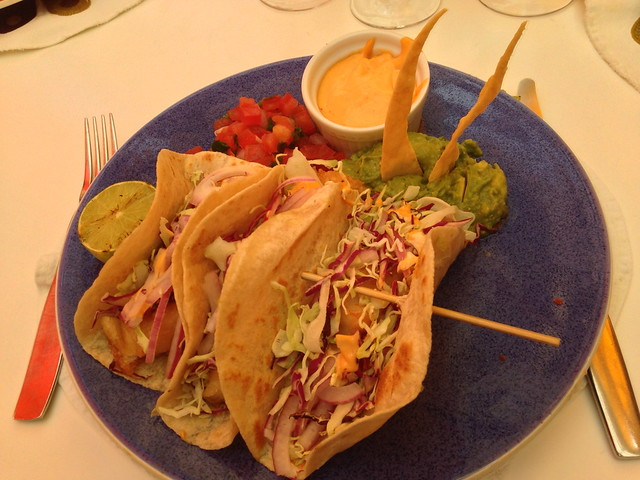 Pancho's crispy fish tacos - Norma's