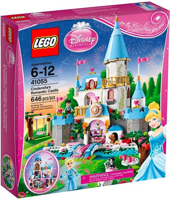 41055 Cinderella's Romantic Castle