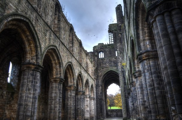 Kirkstall Abbey Interior