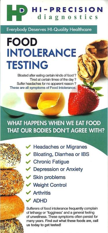 Food Intolerance Test Near Me