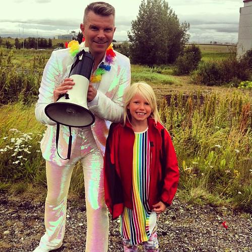 Finally! #pállóskar #gaypride #reykjavík #iceland