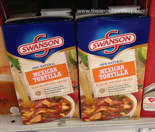 Swanson Mexican Tortilla Flavor Infused Broth