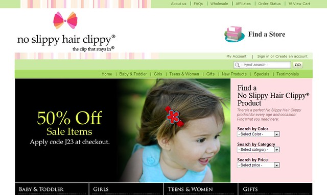 no slippy hair clippy官網,寶寶女孩大人都能用!長期都有五折折扣的優惠碼喔!