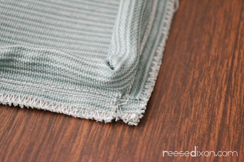 Upholstered Bench Cushion Tutorial Step 3