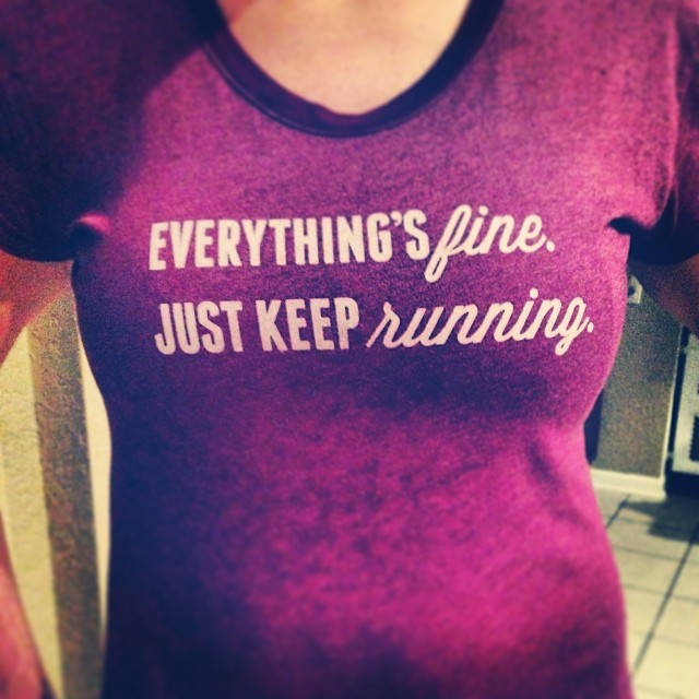 Love, love, love this shirt from @oiselle #truth