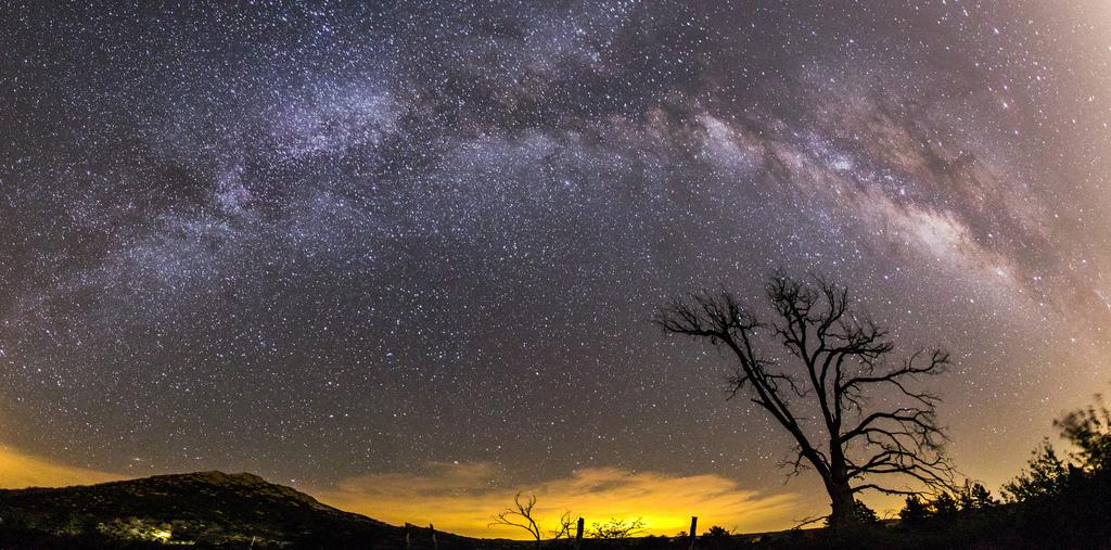 7. Espectacular vista panorámica de la Vía Láctea. Autor, Slworking2