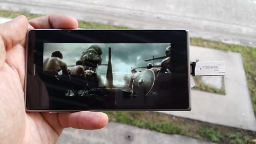 ดูคลิป 1080p บน Doogee DG900 Turbo 2