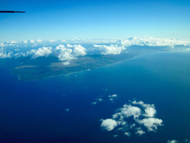 Aerial Picture of Molokai