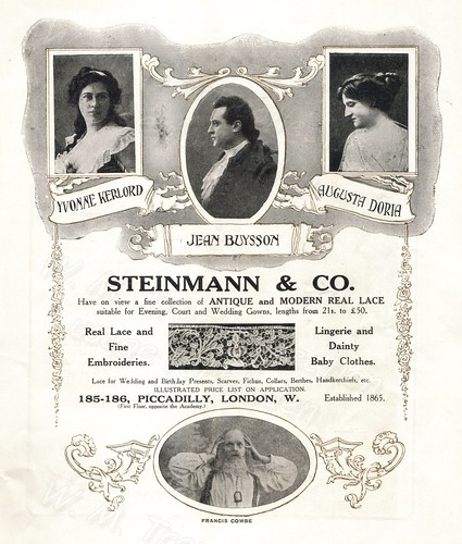 British advertisements - 1912.