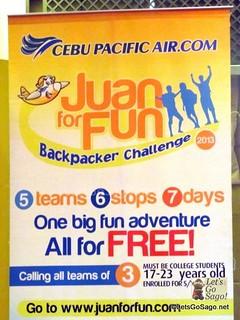 Juan for Fun Backpacker Challenge 2013