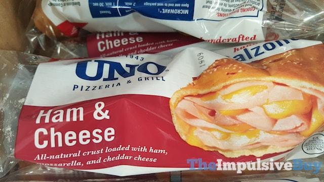 Uno Pizzeria & Grill Ham & Cheese Calzone