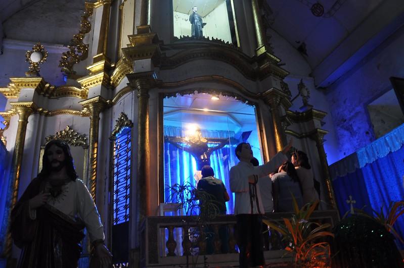 El Sto. Cristo Milagroso de Sinait