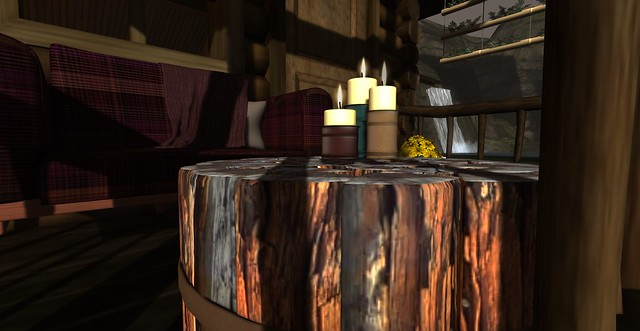 The Rustic Lodge Veranda