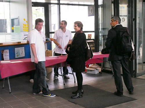 AT Rennes 2013 : A l'accueil (1)