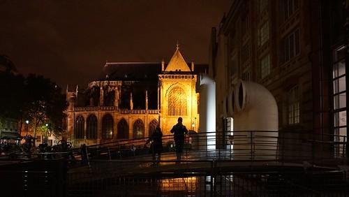 Golden Nights Have a Thousand Eyes ~ Ircam ~ Paris ~ MjYj by MjYj