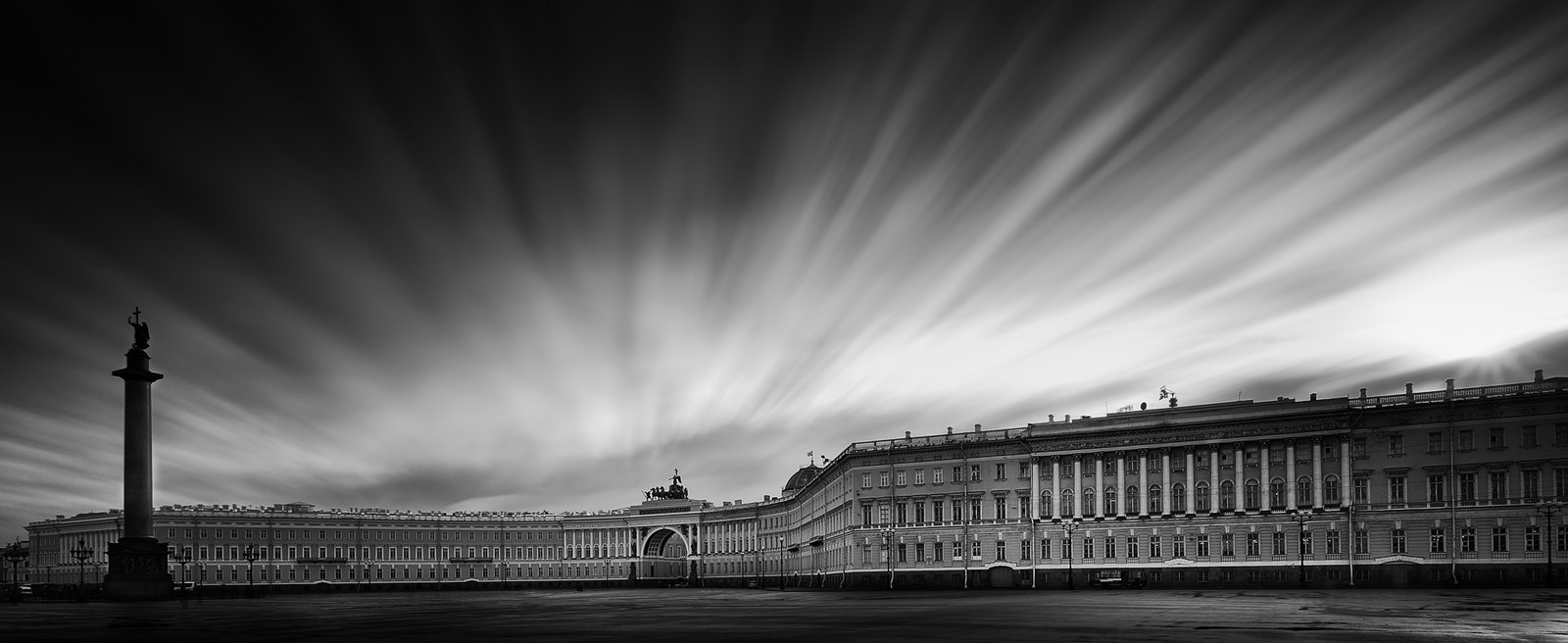 St Petersburg - Palace square