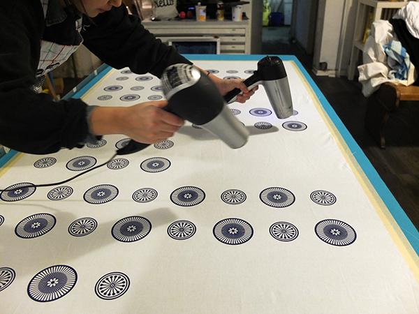 Musterdruckkurs - printing pattern