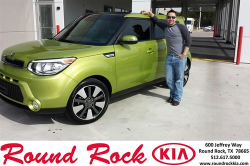 Congratulations to Ryan  Piper on your #Kia #Soul purchase from Kelly  Cameron at Round Rock Kia! #NewCar by RoundRockKia