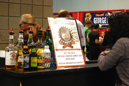Alcohol at Denver Comic Con