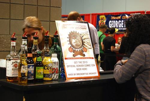 Alcohol at Denver Comic Con