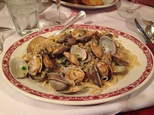 linguini w/ clams