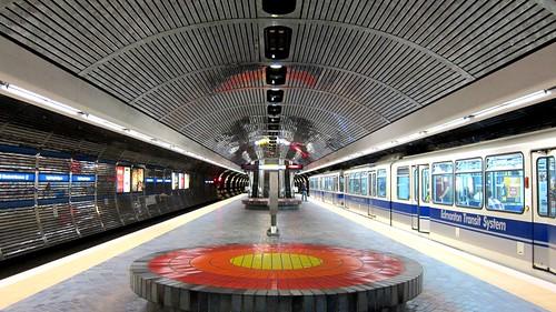Edmonton LRT Station