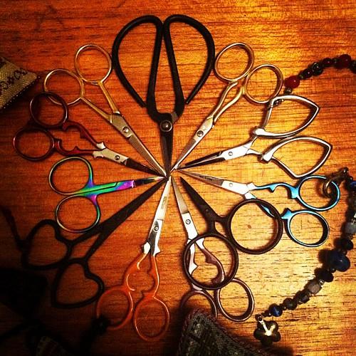 #yarnpadc catch up, Day 20: Favorite Tool - #scissors I love them!