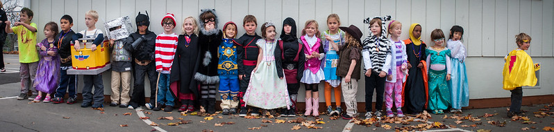 Miss W's Class Halloween 2013