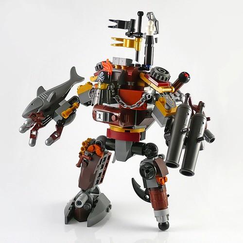 LEGO The Movie 70807 MetalBeard's Duel 17