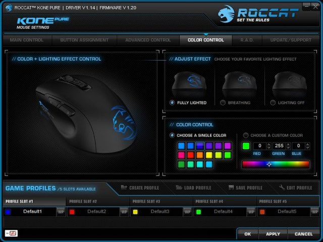ROCCAT Kone Pure Gaming Mouse 103