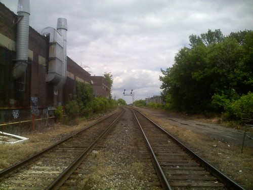Train tracks, Bartlett between Dupont and Geary (2)
