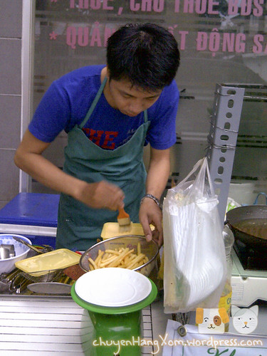 Ghé Kohii ăn khoai tây chiên 15 ngàn 100g