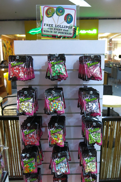 Packs of candy at Twisted Candy
