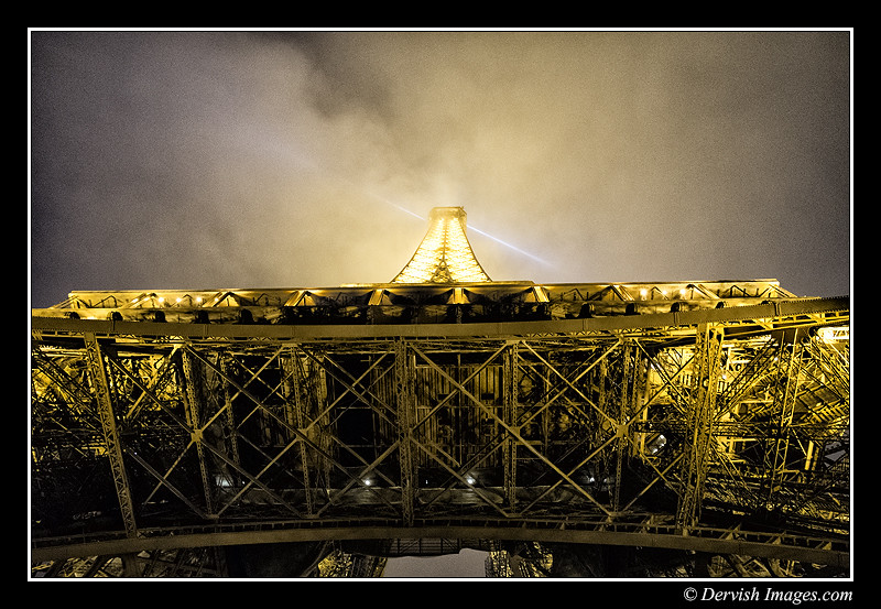 Getting An Eiffel Looking Up
