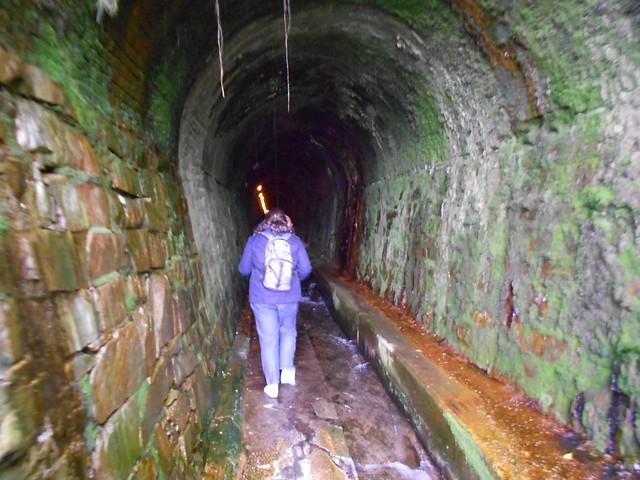 Interior del tunel de
