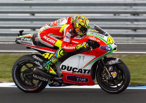 Valentino Rossi 46 by Daniel Hall - AUS