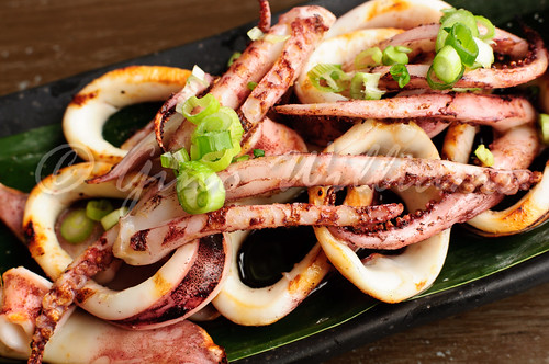 Whole Grilled Squid