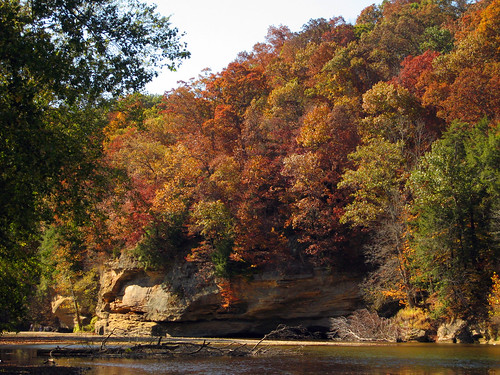 Autumn at Turkey Run